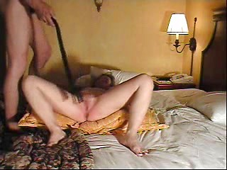 Hot amateur kinky wife spanked on her naked...