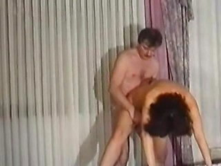 Real life couple in vintage homemade porn video