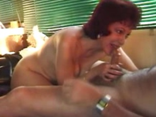 Red haired mature chubby wife gets hardcore...