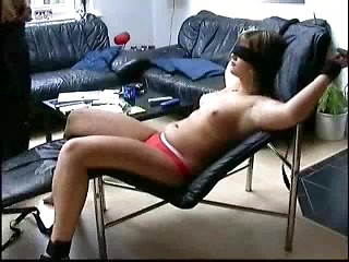 Fatty amateur wife fixed and teased in her...